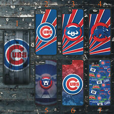 CHICAGO CUBS PHONE CASE COVER FITS iPHONE 6 7 8 X 11 SAMSUNG S7 S8 S9 S10 S20