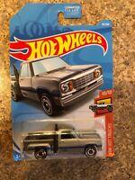 Hot Wheels 2019 HW Hot Trucks #55 1978 Dodge Li'l Red Express Truck Silver