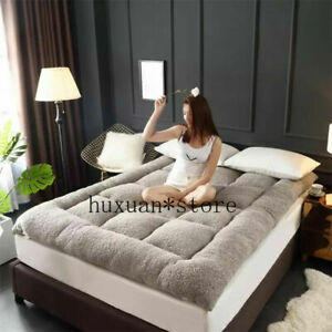 2021 Cashmere mattress tatami bed padded pad Bedspread King Queen Twin Full Size