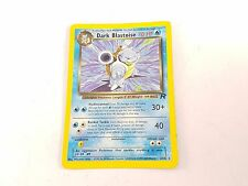 Pokemon TCG Card Team Rocket Dark Blastoise 20