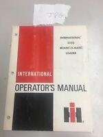 ORIGINAL INTERNATIONAL 2250 MOUNT-O-MATIC LOADER OPERATOR'S MANUAL 1090417R3