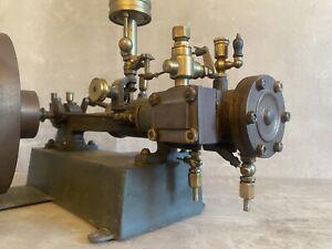 Antik Antriebsmodell Dampfmaschine Schiebersteuerung Zentrifuge Dampf Spielzeug