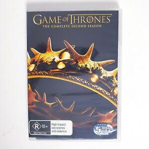 Game of Thrones Season 2 TV Series DVD Region 4 AUS - Free Postage