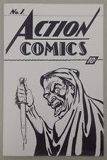 Superman Action Comics #1 recreation The Art Collector's Ashcan Edition!!!