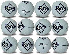 Tampa Bay Rays Titleist ProV1 Refinished MLB Golf Balls 12 pack