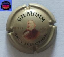 Capsule de Champagne MUMM Cuvée Brut Sélection Or Bronze 32mm n°139d !!!!