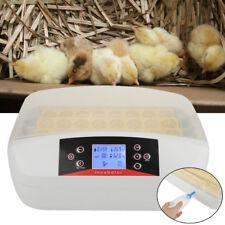 Automatisch Inkubator Brutmaschine Brutapparat 32Eier Brutkasten + Gummiflasche