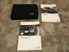 2013 Audi Q5 Owners Manual With Case And Navigation Oem Free Shipping