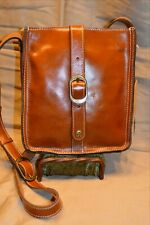 NWT PATRICIA NASH Venezia TAN Heritage Leather Crossbody Bag 109.00