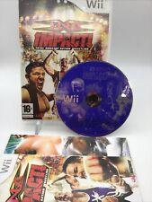TNA IMPACT Total Nonstop Action Wrestling Nintendo Wii PAL Complete