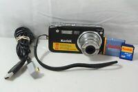 Kodak Easy Share Camera Digital Point And Shoot 12.0 MP HD Video + 1GB SD Card