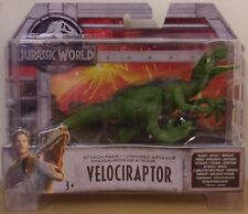 Jurassic World Attack Pack ~ Velociraptor Dinosaur Figure