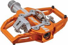 HT Pedals T1 clipless platform pedals, CrMo - orange