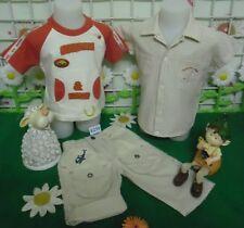 vêtements occasion garçon 6 mois,chemisette JACADI,t-shirt,pantalon DPAM
