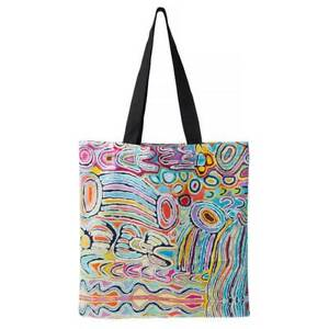 Aboriginal Art Tote Bag - Judy Watson
