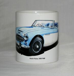 Classic Car Mug. Austin-Healey 3000 Mklll