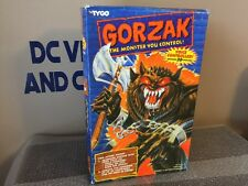 "VINTAGE 1994 TYCO--ELECTRONIC 14"" GORZAK MONSTER FIGURE -BRAND NEW SEALED WOW"