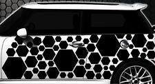 Hexagon Pixel Cyber Camouflage XXL Set Auto Aufkleber Sticker Tuning Wandtattoo