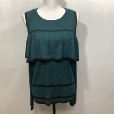 Cato Sweater Ladies Large Cold Shoulder Long Sleeve