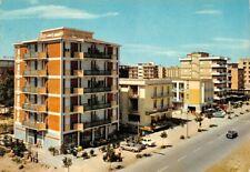 Cartolina Valverde Riviera Adriatica Alberghi Viale Carducci