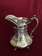 ANTIQUE AMERICAN STERLING SILVER PITCHER MARKED GELSTON &CO /NEW YORK 390 GRAMS