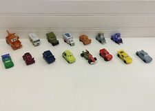 Disney Cars Planes Movies Vinyl Vehicles Figurines Cake Toppers Lot Of 15