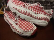 2010 NIKE Air Footscape Woven FreeMotion Red Summit White (417725-600) US 10