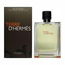 TERRE D'HERMES for MEN * HUGE 6.7/6.8 oz (200 ml) EDT Spray * NEW & SEALED