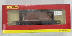 Hornby 00 R 6145B BR (ex LMS) 20 Ton Brake Van 'M730202'