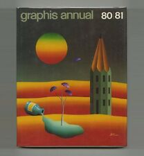 1980 Paul Rand GRAPHIS ANNUAL Alan FLETCHER Herb LUBALIN H. R. Giger CHERMAYEFF