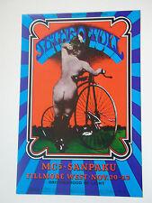 Jethro Tull, Mc5 1969 Original Fillmore Bg-203 Concert Poster