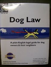 Dog Law by Attorney Mary Randolph (2001, Paperback) NEW!! FREE SHIPPING!!!!!!!