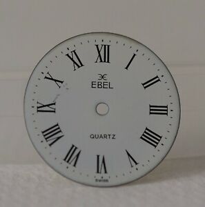 Ebel White Roman Numeral Watch Dial