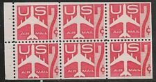 U.S. UNUSED C60A      MNH       Booklet Pane as shown      (R8768)