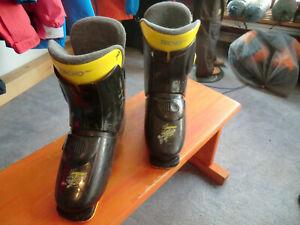 Tecno  Skischuhe gebraucht, Ski Schuhe, Gr: 39  Sohlenlänge 296 mm Gebraucht