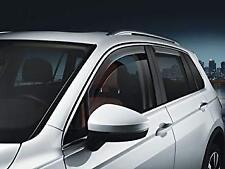 Genuine Volkswagen front slimline weather shields for VW Tiguan 5NA072193HU3