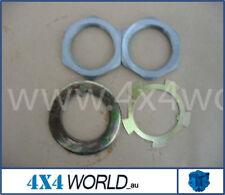 For Toyota Landcruiser HZJ80 HDJ80 Series Spindle Nut/Washer Kit