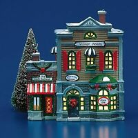 VILLAGE REALTY and CAFE ITALIANO Dept RETIRED 56 Snow Village  Nice Realtor gift