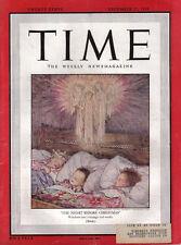 TIME MAGAZINE DECEMBER 27 1948 REGINALD MARSH ST.FRANCIS IN THE FIELDS MAO