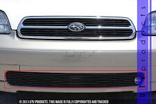GTG Gloss Black 1PC Bumper Billet Grille fits 2000 - 2002 Subaru Legacy Outback
