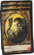 Khalil Anvari x3 Follower of Set FN VTES Jyhad