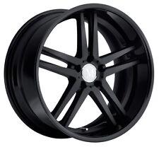 19x8.5 Mandrus Simplex 5x112 Rims +20 Matte Black Wheels (Set of 4)