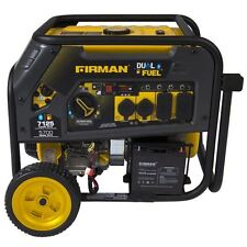 Firman Power Equipment Dual Fuel Gas/Propane 7100W/5700W Watts Generator H05751