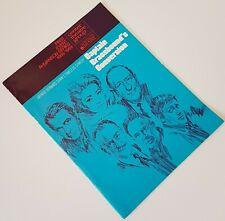 Geroge Bernard Shaw Captain Brassbound's Conversion Playbill Ahmanson Theatre