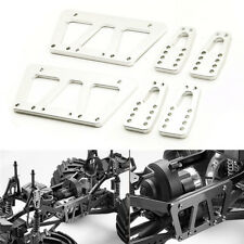 Silver Alloy Chassis Lift Plate kit For Axial SCX10 1:10 RC Crawler Truck Car