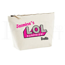Personalised LOL Dolls Storage Case Bag- Medium-  (19cm x 18cm  x 9cm)