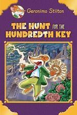 THE HUNT FOR THE HUNDREDTH KEY Geronimo Stilton NEW book HB/DJ (2017) 100th