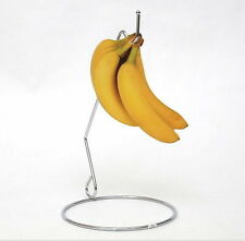 Banana Steel Stand Hanger Chrome Body Organizer Kitchenware 26cm