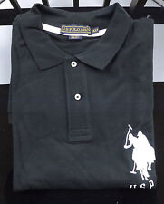 US POLO ASSN Mens Lot of 2 Short Sleeve #3 Polo Shirts Size 5XL Black & White