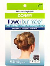CONAIR FLOWER BUN MAKER - 6 PIECE KIT (55663)